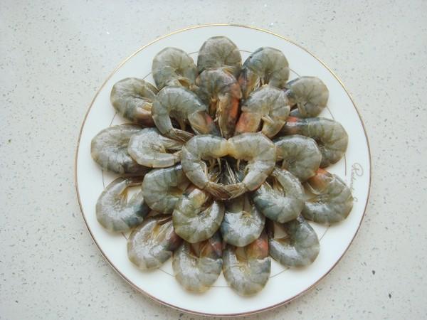 蒜蓉烤鲜虾怎么炒