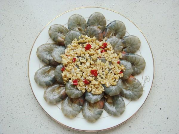 蒜蓉烤鲜虾怎么煮