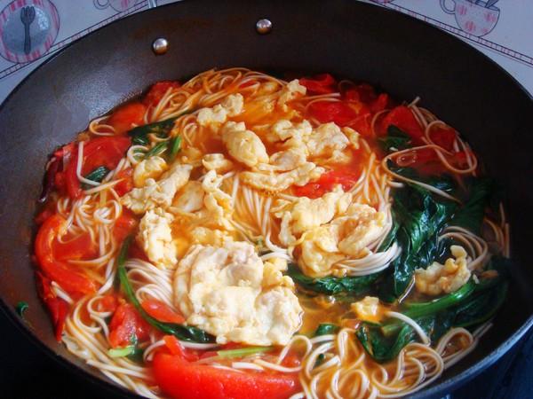 西红柿鸡蛋面怎样做