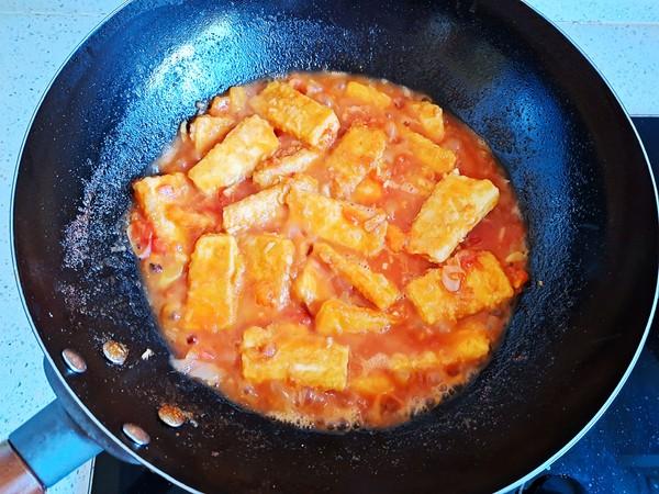 家常茄汁豆腐怎么炖