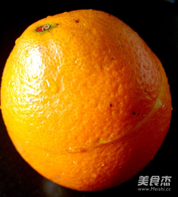 盐蒸橙子的简单做法