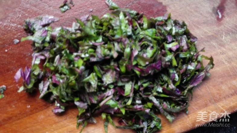 紫苏叶炒鸡蛋的做法大全