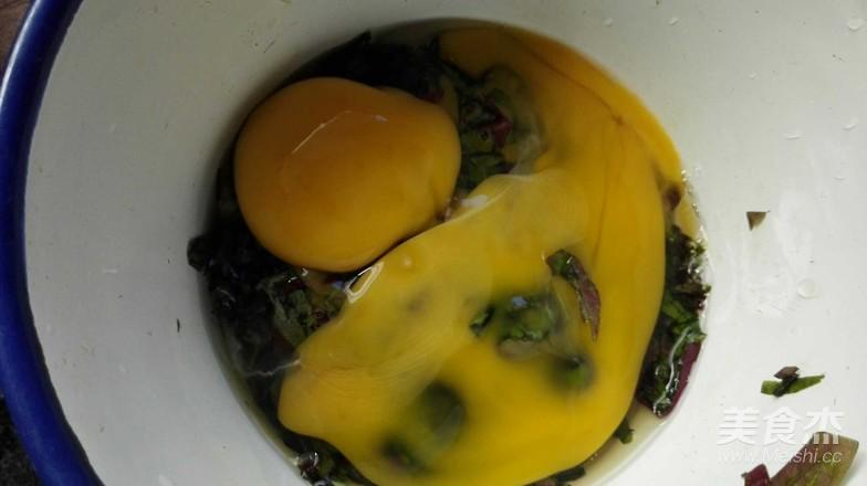 紫苏叶炒鸡蛋的家常做法