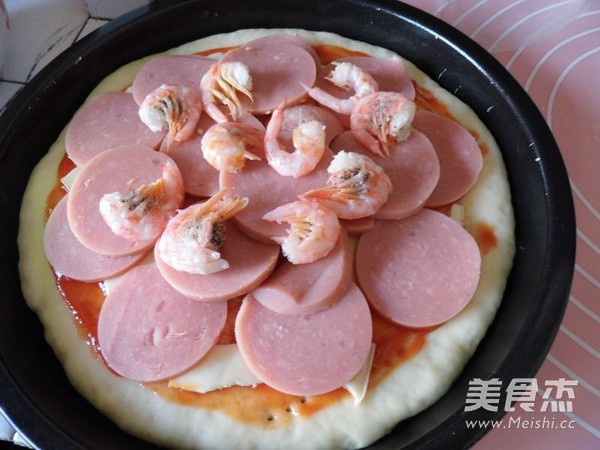 脆底海鲜披萨怎么煮