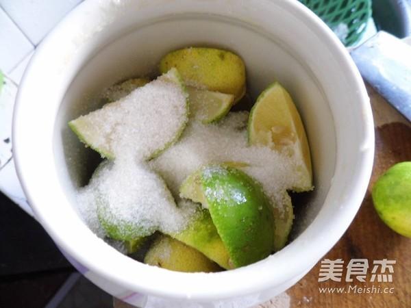 柠檬冰红茶的家常做法