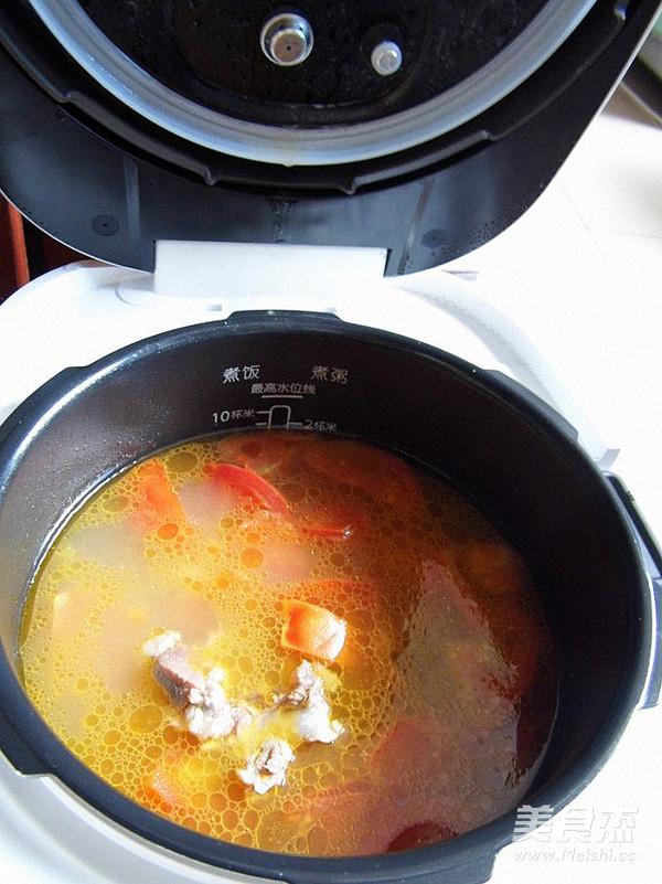番茄排骨汤怎样煸