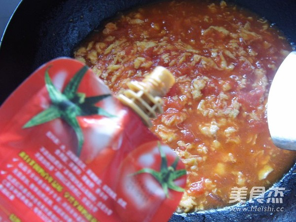 番茄鸡蛋酱拌面怎么炒