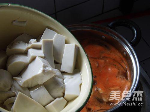 辣味豆腐汤怎么炒
