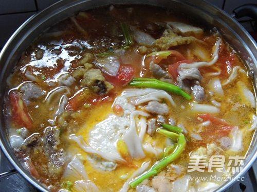 重庆荤豆花的制作方法