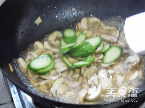 清炒蘑菇怎么煮