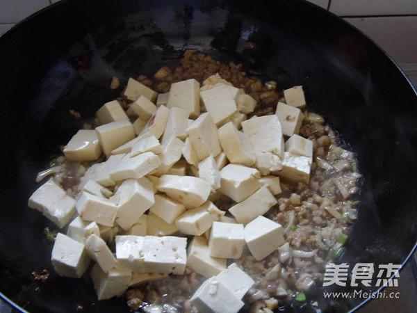 鸡刨豆腐的简单做法