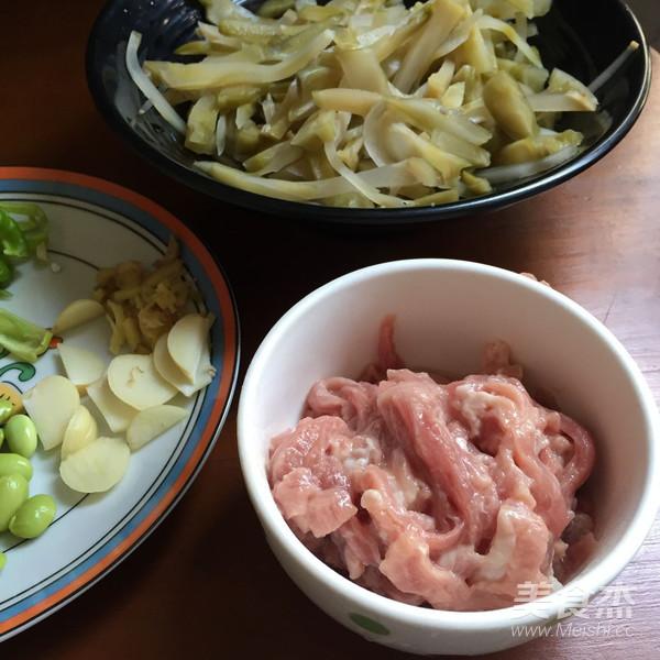 榨菜毛豆肉丝的做法大全