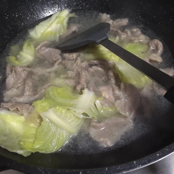 金汤藤椒水煮肉片的做法图解
