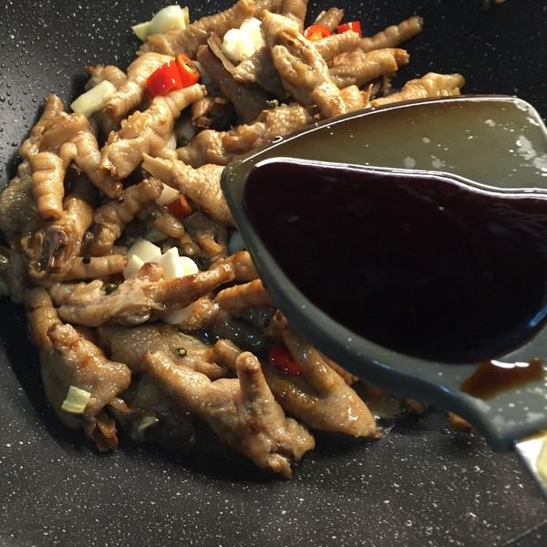 香辣干锅鸡爪的简单做法