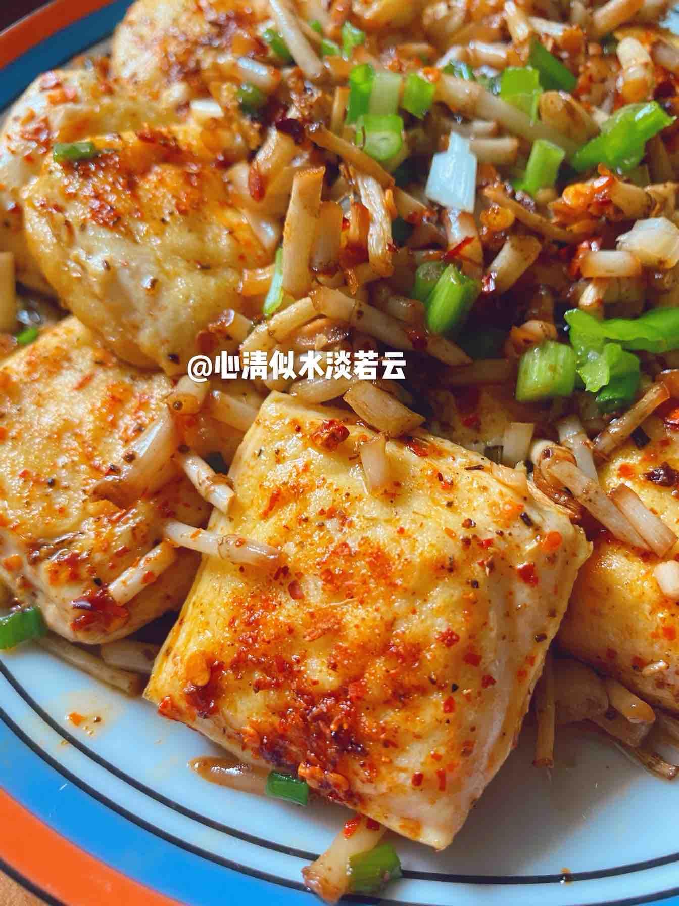 包浆豆腐成品图