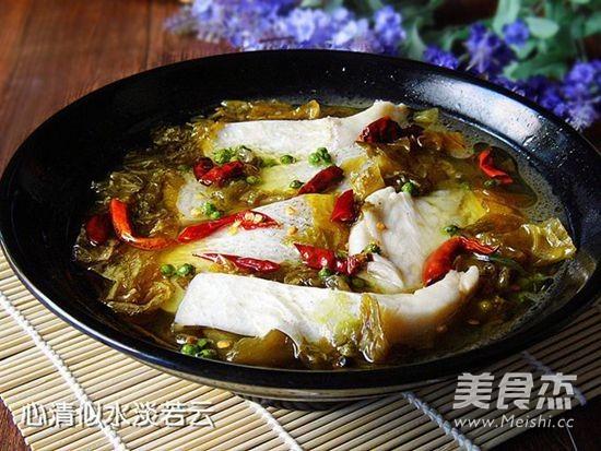 青花椒酸菜鱼怎么炖