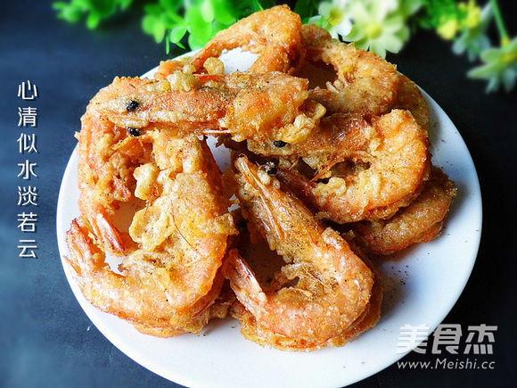 椒盐大虾怎么吃