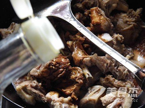 丁香口蘑焖鸭怎么煮