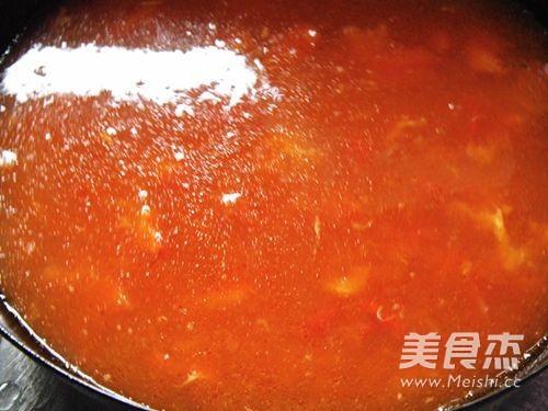番茄丸子汤怎么吃