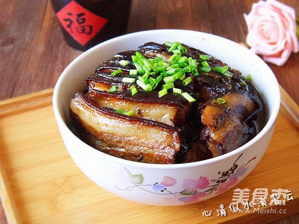 梅菜扣肉怎样炒