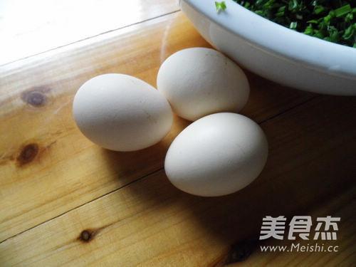 韭菜鸡蛋虾皮盒子怎么吃