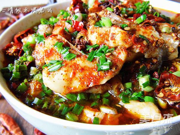重慶豆花魚成品圖