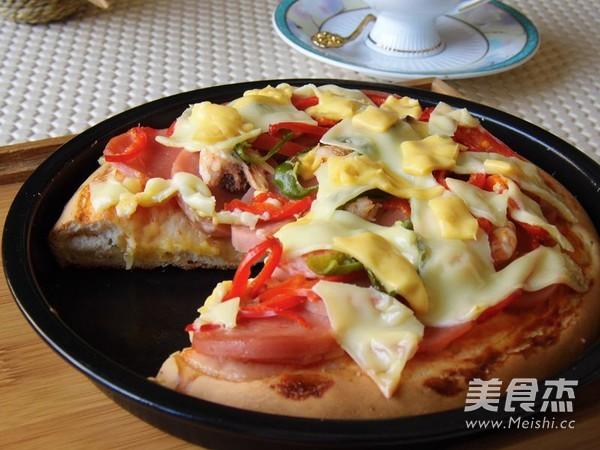 脆底海鲜披萨怎样做