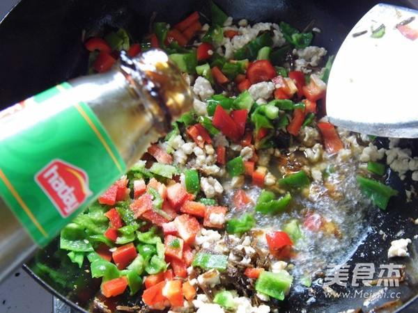 鸡米芽菜怎么煮