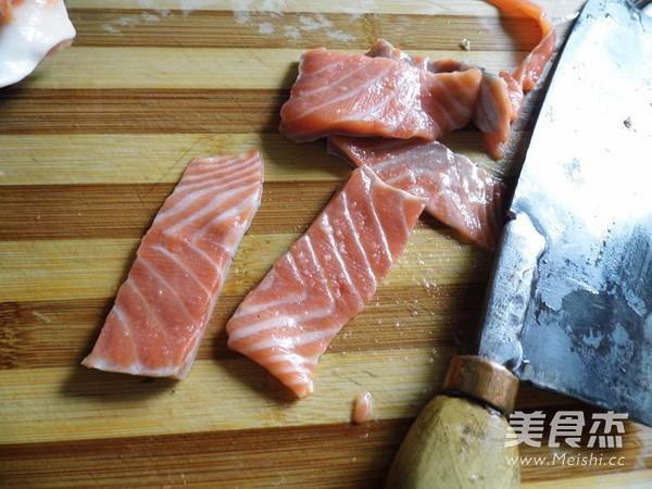 泡椒三文鱼的简单做法