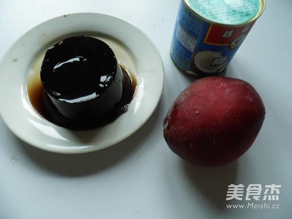 椰香芒果龟苓膏的做法大全
