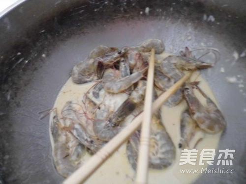 椒盐大虾的做法图解