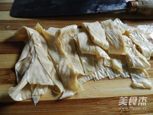 红油豆腐皮怎么做