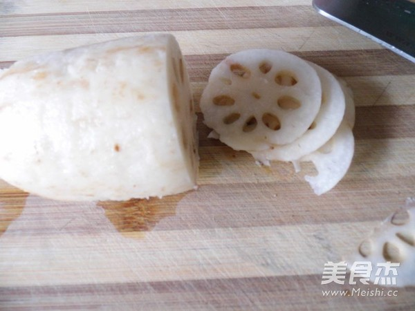 酸辣炝炒藕片的做法大全