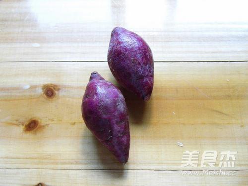 紫薯花生银耳汤的做法图解