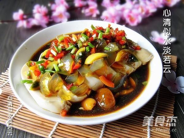 剁椒皮蛋豆腐怎么炒