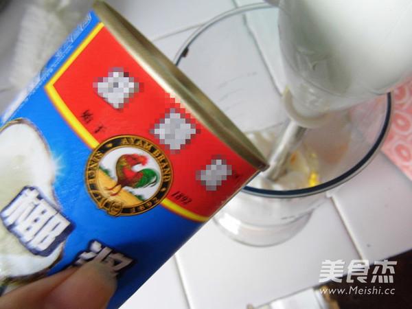 椰香芒果龟苓膏的简单做法