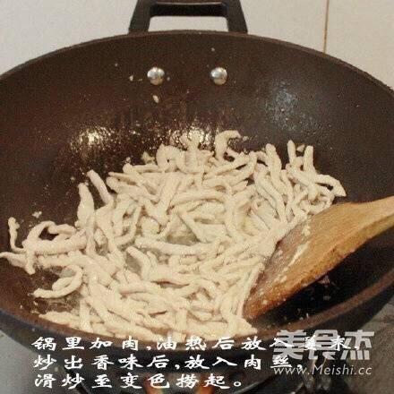 京酱肉丝怎么炒