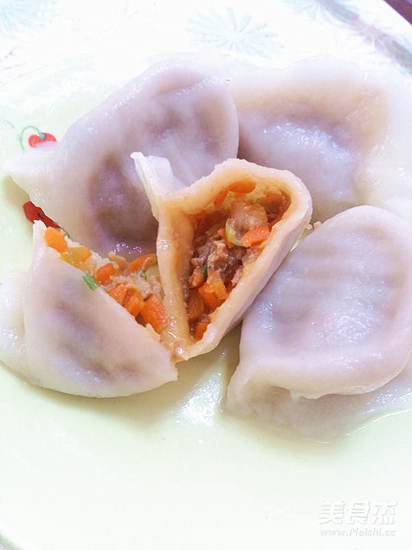 猪肉胡萝卜水饺怎样煮