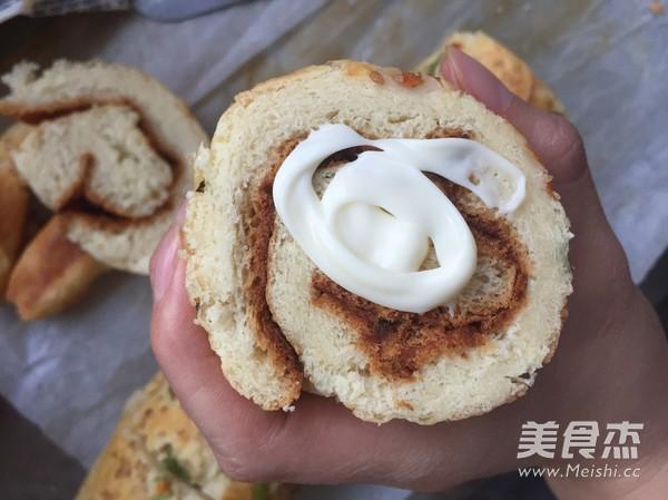 肉松面包卷怎样做
