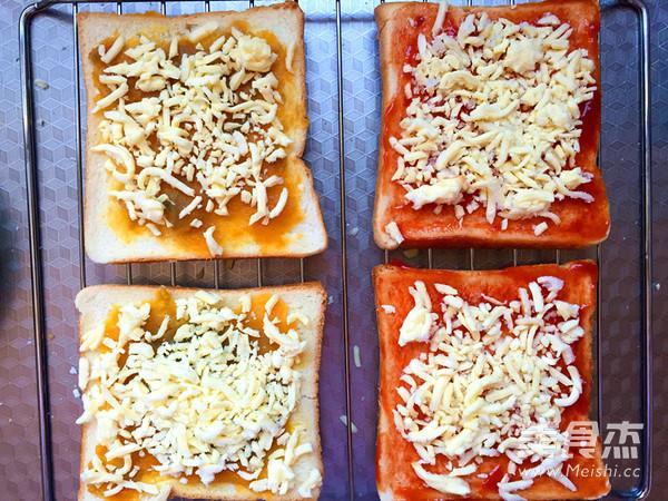 吐司披萨的步骤