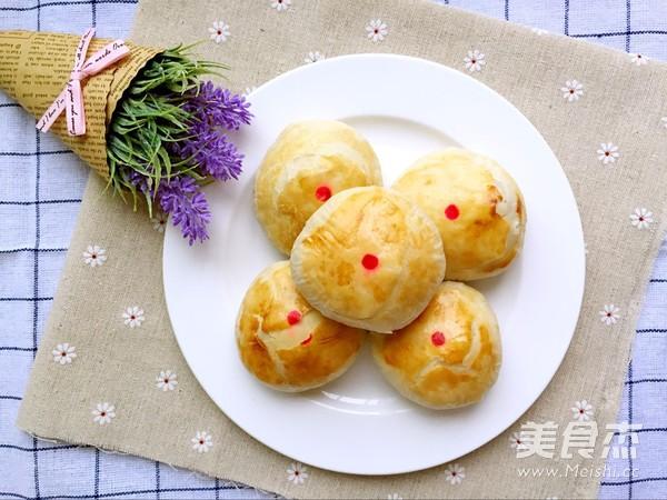 玫瑰花酥饼的制作大全