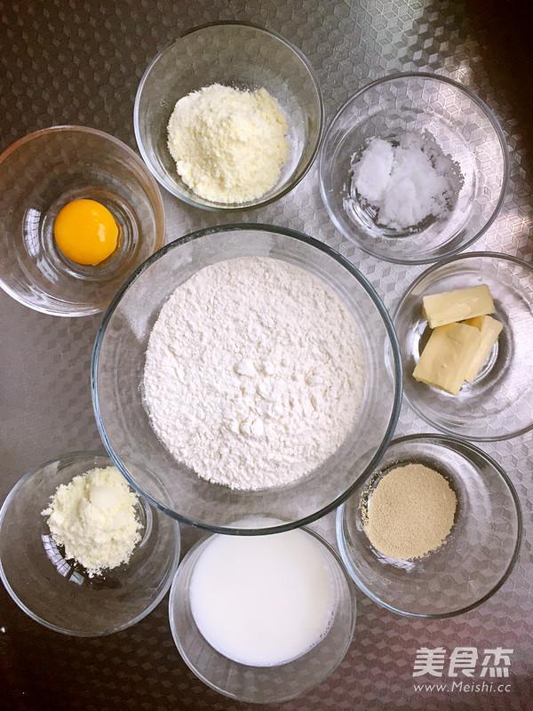 奶黄排包的做法大全