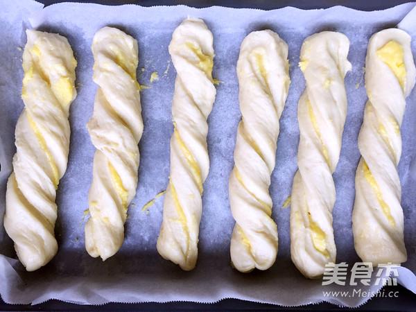 奶黄排包的制作方法