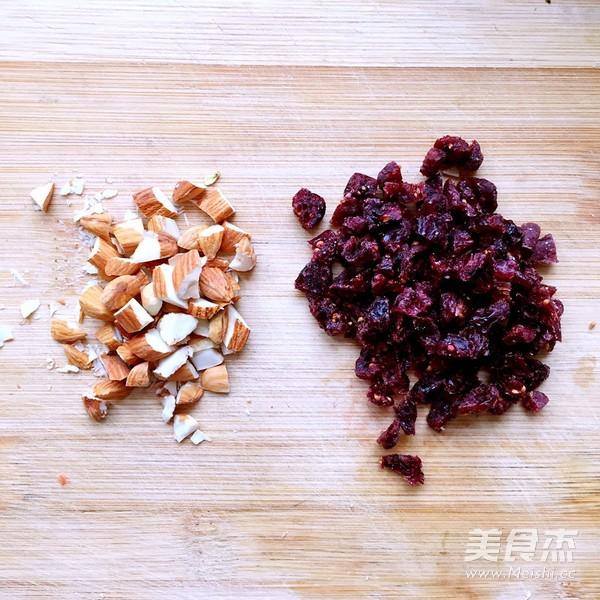 蔓越莓乳酪块的做法图解