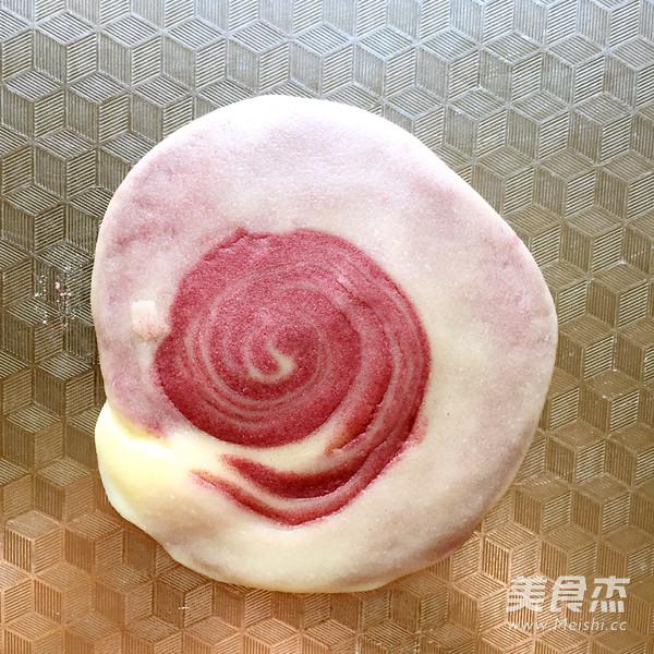 紫薯蛋黄酥的制作方法