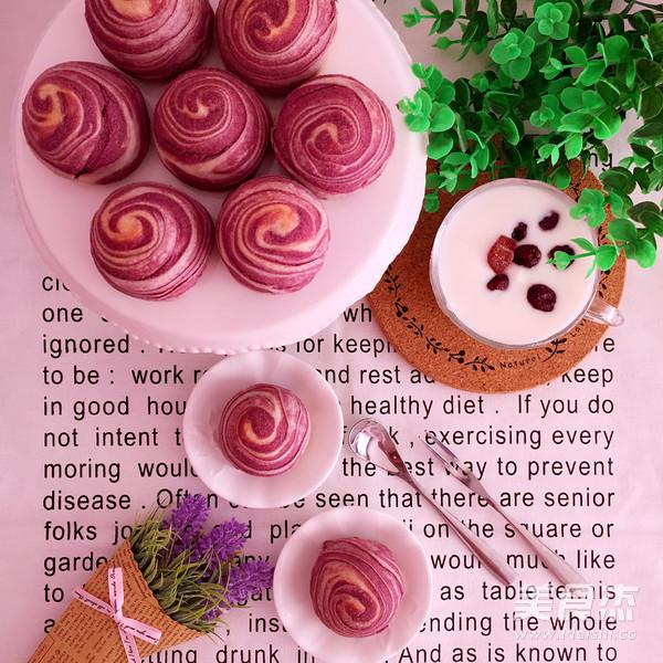 紫薯蛋黄酥的做法大全