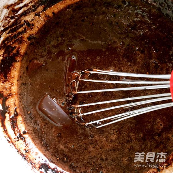 巧克力戚风蛋糕(8寸)的家常做法