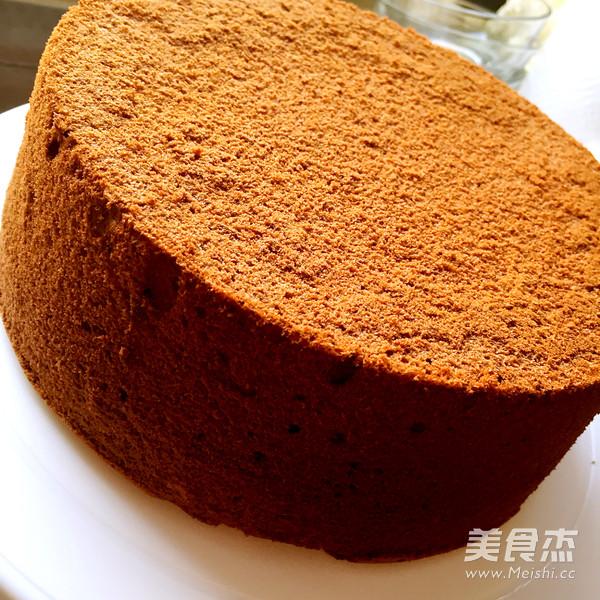 巧克力戚风蛋糕(8寸)怎样煮