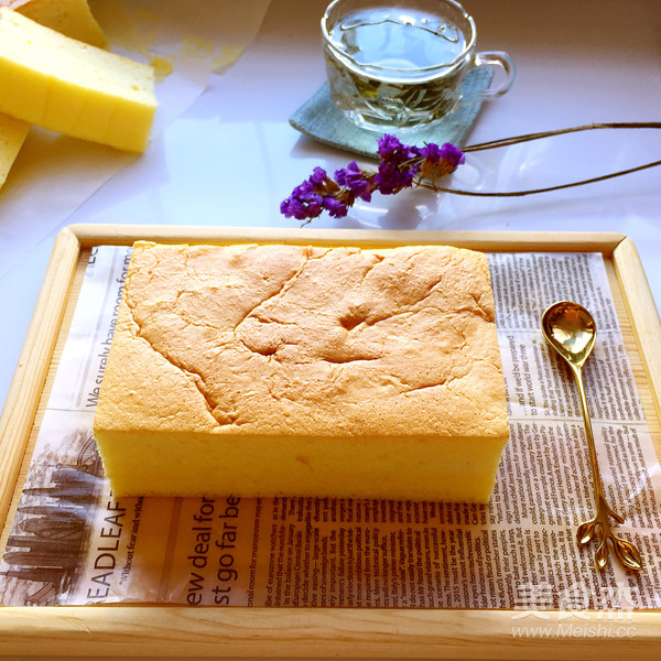 古早味蛋糕(8寸)的制作大全