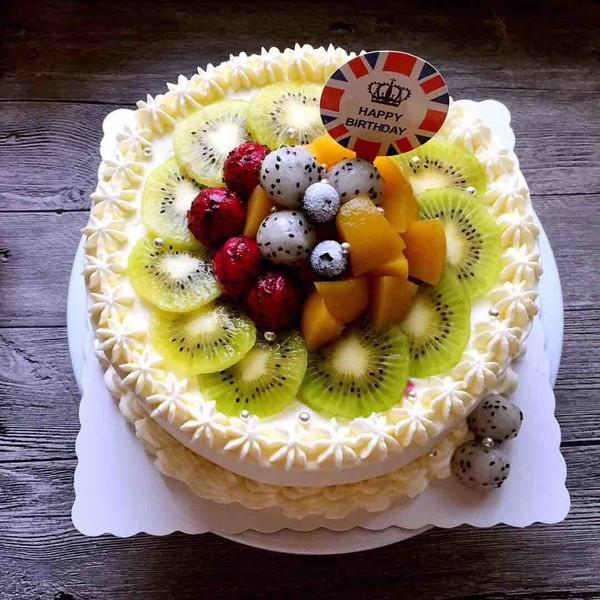 水果奶油蛋糕的简单做法